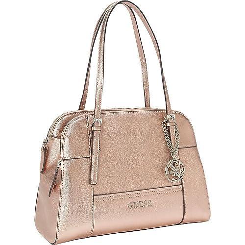 71610bac GUESS oro rosa bolso de mano bolsa bolso de mano: Amazon.es: Zapatos y  complementos
