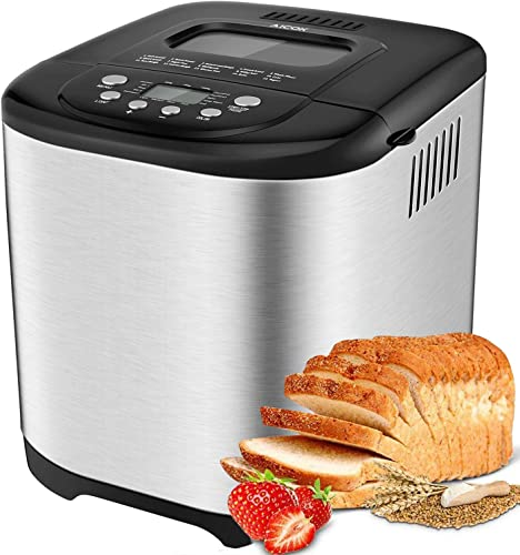 Automatyczny wypiekacz chleba Aicok, 2LB Programmable Bread Machine