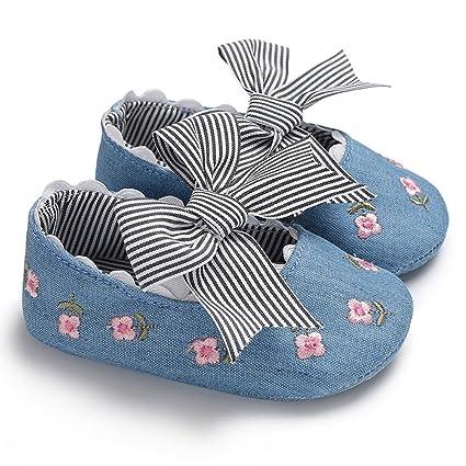 f25c5a63f Ocamo Zapatos Antideslizantes para bebé y Niña