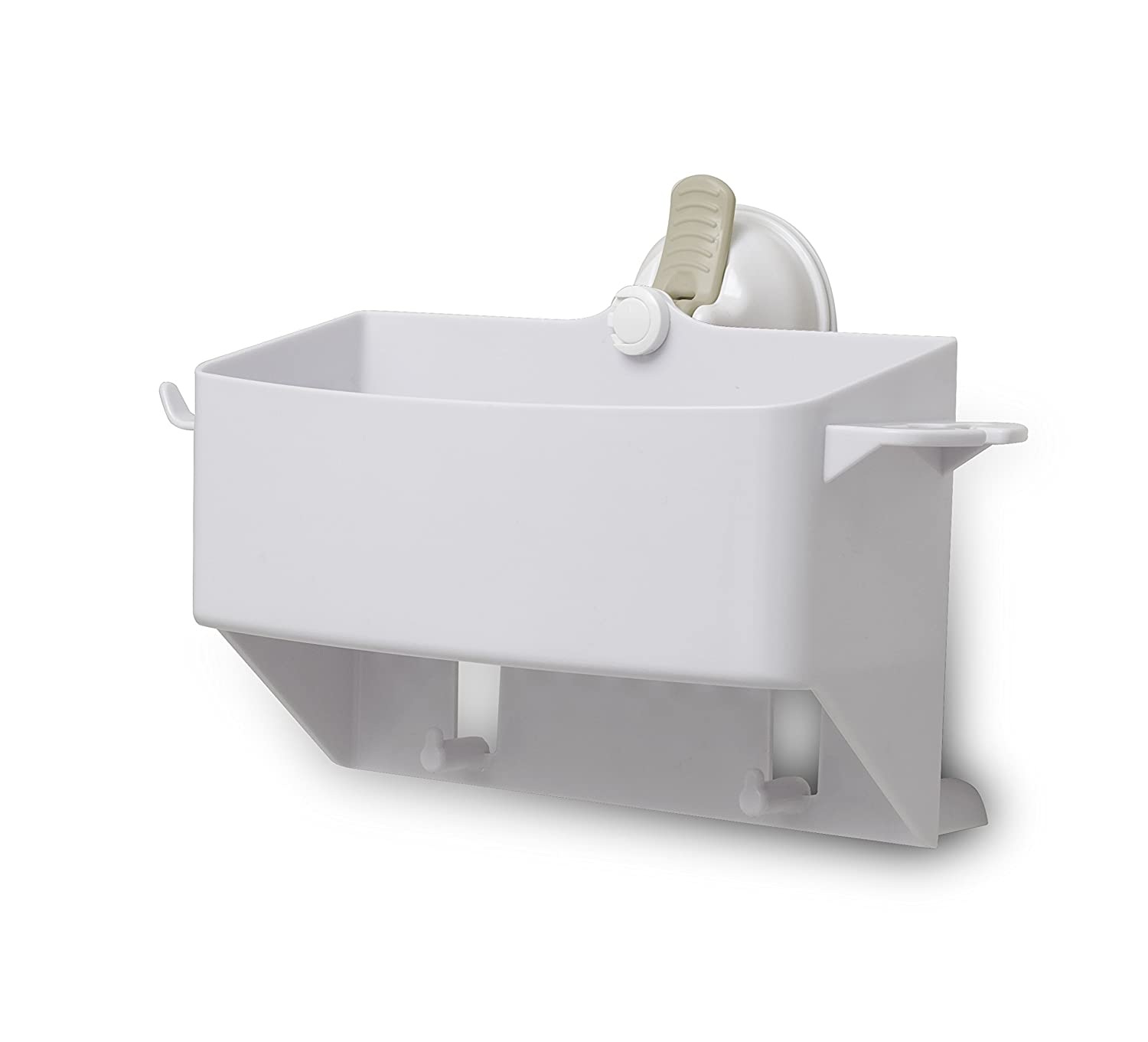 Changing Lifestyles Safe-Er-Grip Tub Organizer, White, 1 Count Mommy's Helper Inc. 12221