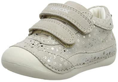 adc19c1c35 Geox Baby Girls' B Tutim a Low-Top Sneakers: Amazon.co.uk: Shoes & Bags