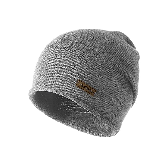 09b888dc6fc Triwonder Berretto invernale lavorato a maglia Berretto con teschio  Berretto a scaldino caldo in lana per uomo e donna (Grigio)  Amazon.it   Abbigliamento