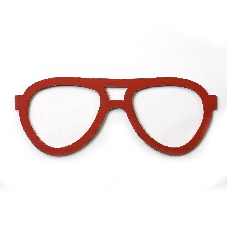 Aviator Eyeglasses Wall Decor Pilot glasses Optometry Wall Art Optical Shop Art