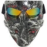 Vhccirt - Máscara de Paintball, Airsoft, Moto o esquí, máscara de Pesca,