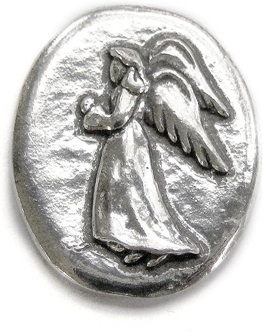 zzF Good for 1 favor spirit HANDCRAFTED PEWTER POCKET TOKEN CHARM basic coin