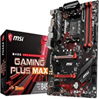 MSI B450 Gaming Plus MAX AM4 Ryzen ATX Motherboard 4X DDR4 6xPCIE 1xM.2 DVI-D