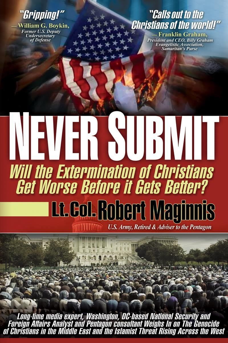 amazon com never submit will the extermination of christians get