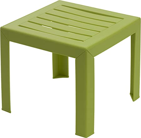 Grosfillex Miami Table Vert Anis 40 X 40 Cm Amazon Fr Jardin