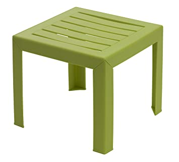 GROSFILLEX Miami Table, Vert Anis, 40 x 40 cm: Amazon.fr: Jardin
