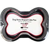 Silicone Dog Bone Shape Cake Pan for Puppy Birthday Cake Mix Novelty 7x10inch Small