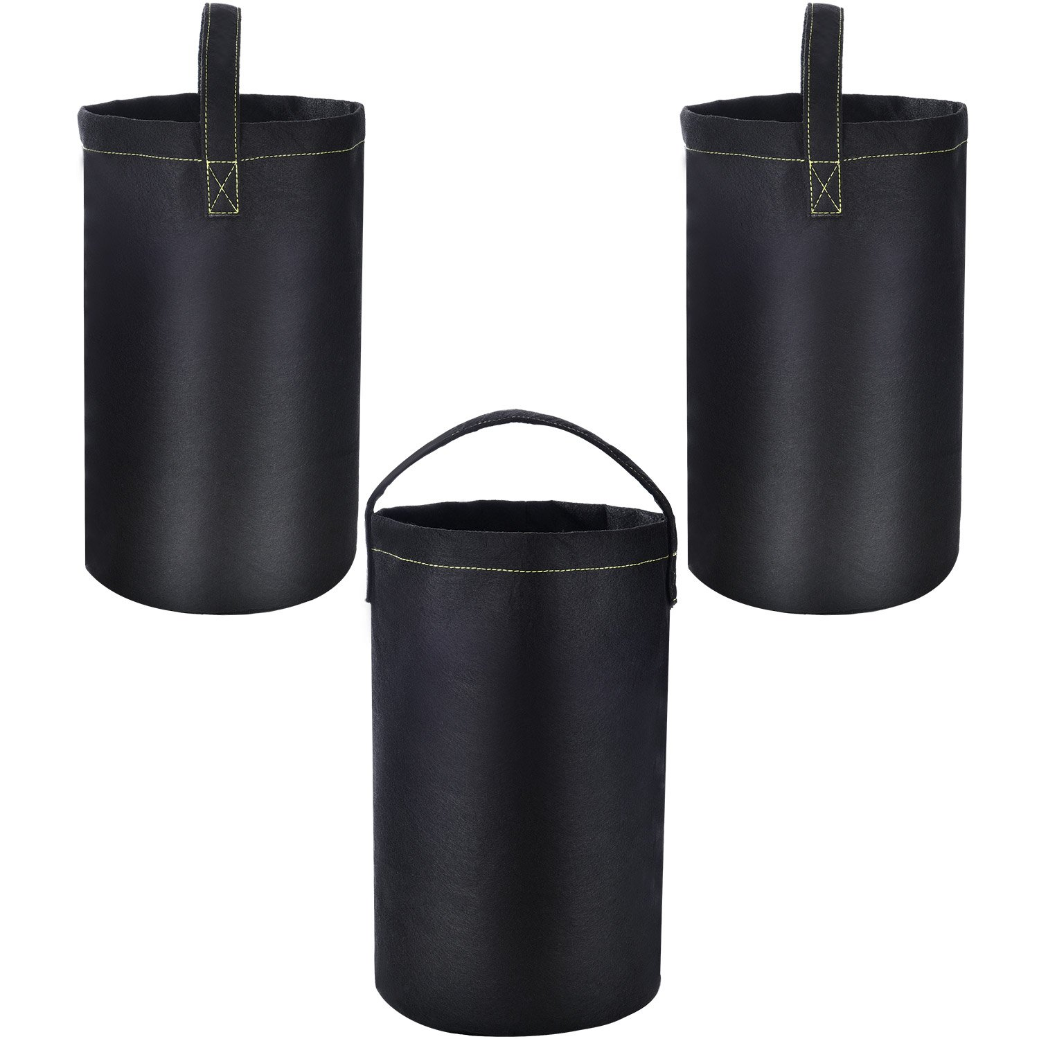 Chuangdi 3 Pack Upside Down Tomato Planter Tomato Grow Bags Fabric Pots with Handles for Tomato Potato Cucumber Vegetable Planting by Chuangdi