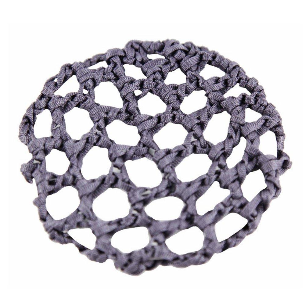 Girls Grey Knotted Ribbon Bun Hair Net 10cm - Dancewear Ballet Pritties Accessories PRH09060