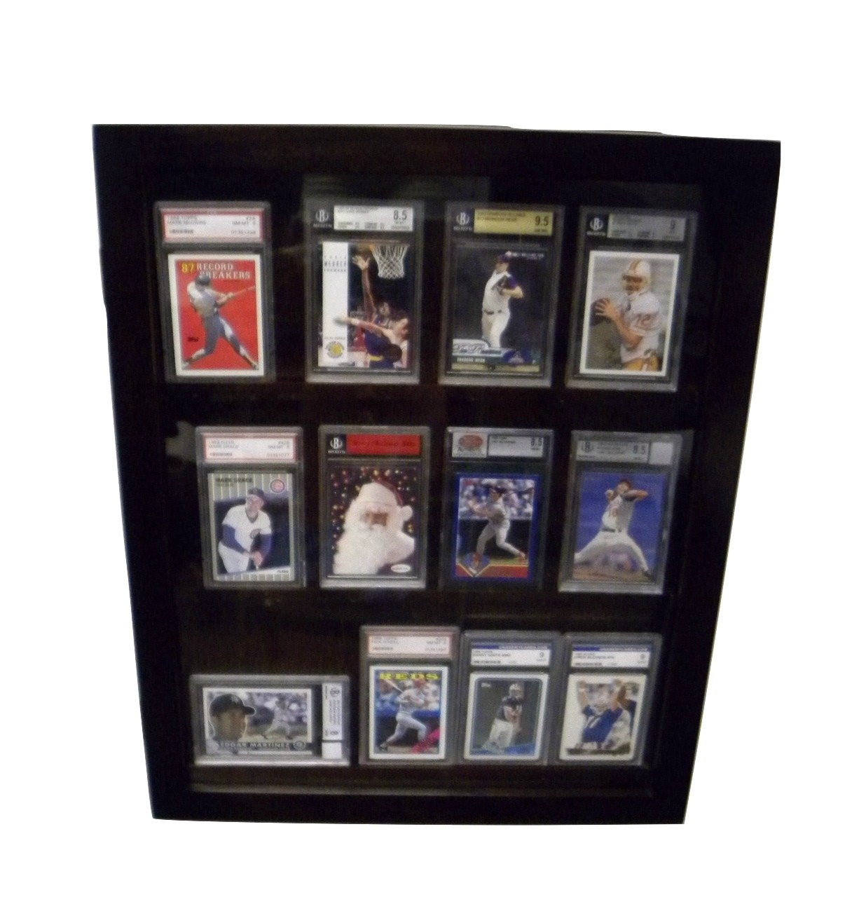 Amazon.com : 12 PSA Graded Card Display Case 12PSAB : Sports Related ...