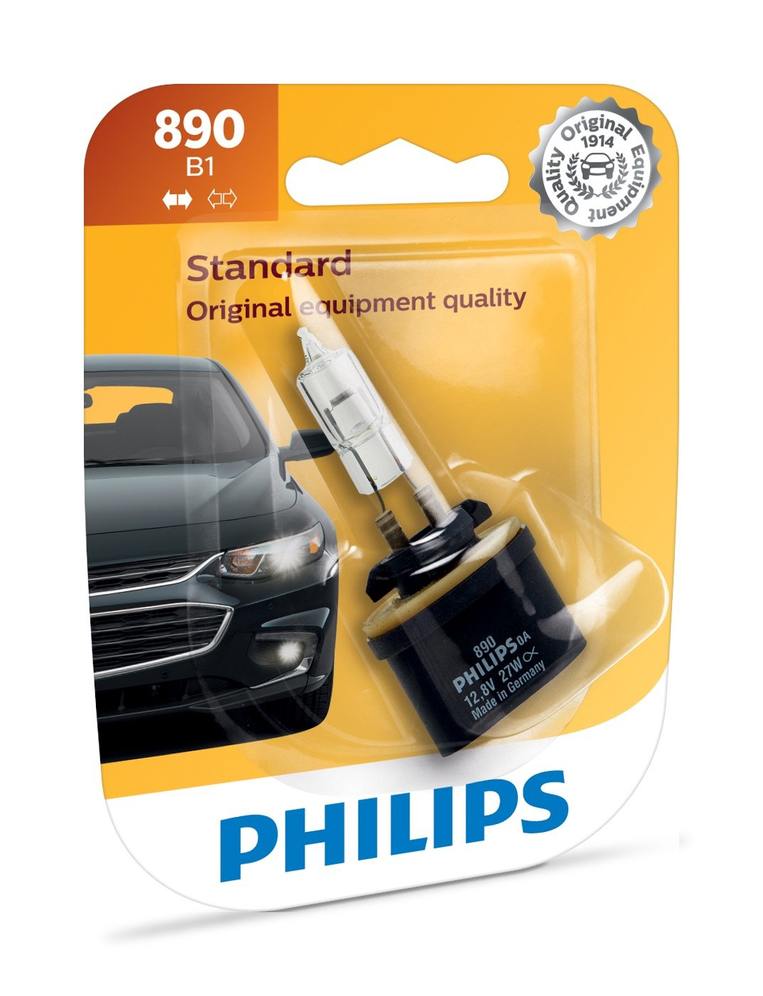 Philips 896 Standard Driving Light Bulb, 1 Pack