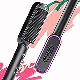 Hair Straightener Comb Matte Black