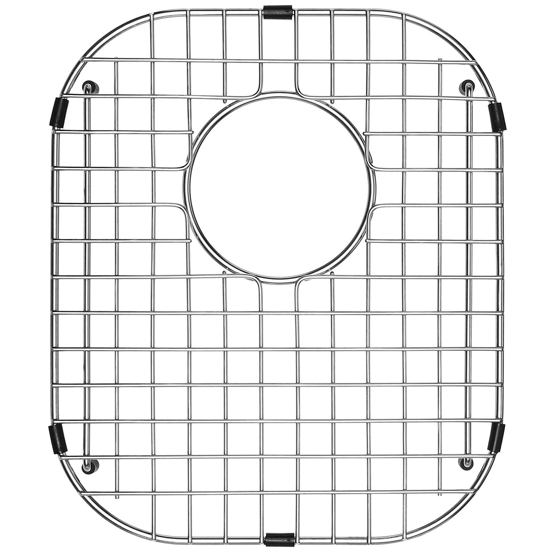 Serene Valley Sink Protector and Kitchen Sink Bottom Grid NDG1518, 304 Premium Stainless Steel, dim 12'' x 14 1/8''