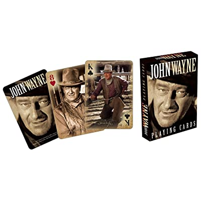 Aquarius John Wayne Playing Cards: Toys & Games