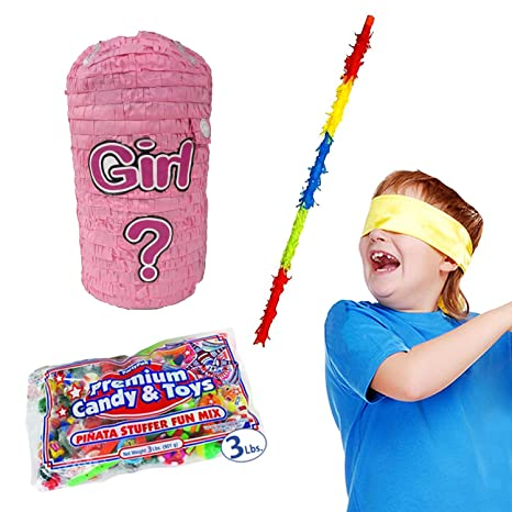 Amazon Punching Bag Gender Reveal Pinata Kit For Baby Showers