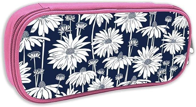 Estuche de lápices Infantil,16-12A Yellow Daisy Floral_Miss Chiff Designs_1075, pingk: Amazon.es: Juguetes y juegos