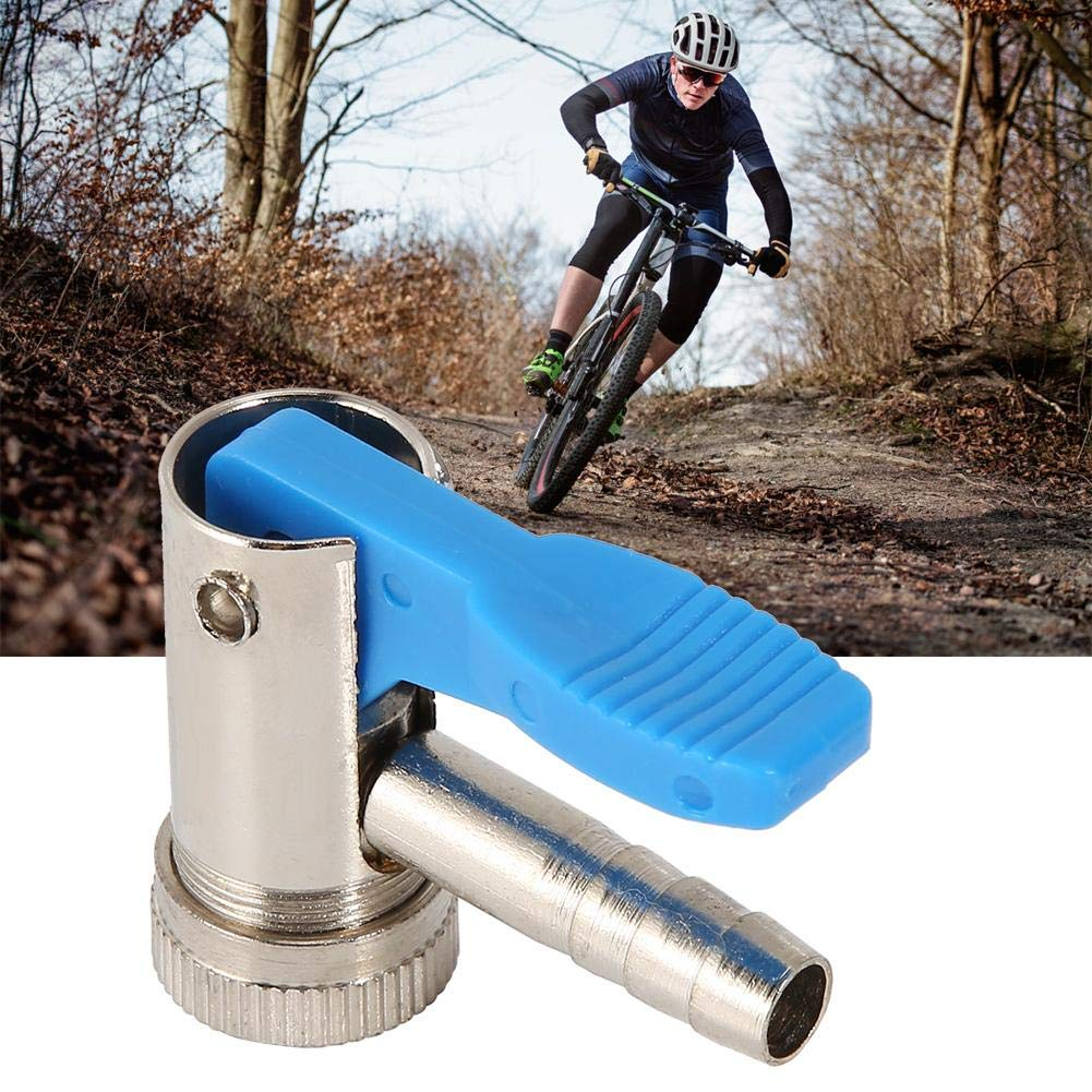 Bicycle Air Pump Head Inflator Connector Valve MTB Bike Parts Cycling Adapter