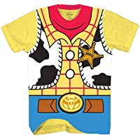 Disney Toy Story Sheriff Woody Cowboy Costume Adult T-Shirt