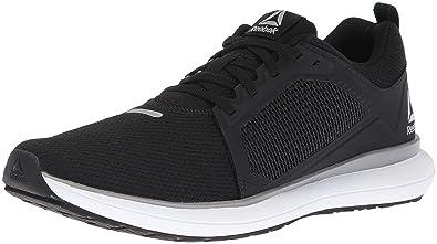 49629ad43875 Reebok Women s Driftium Ride Running Shoe Black Foggy Grey White si 6 M