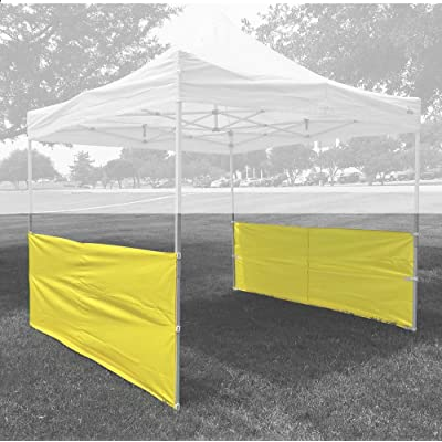 Half Walls (2 PCS) Yellow - for Pop Up Tent Canopy Shelter 10'x10', 10'x15', 10'x20' : Garden & Outdoor