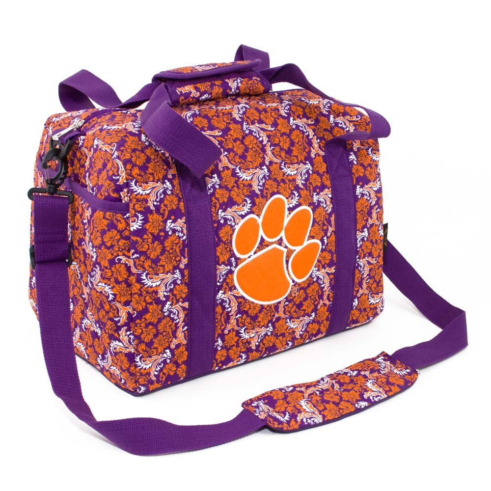 Eagles Wings NCAA Clemson Tigers Women's Mini Duffle Bag, One Size, Multicolor