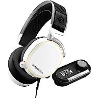 SteelSeries Arctis Pro + GameDAC Gaming Kulaklık - Hi-Res Audio System - PS4 ve PC Uyumlu - Beyaz