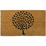 """Rubber-Cal """"Modern Landscape"""" Contemporary Doormat, 18 by 30-Inch"""