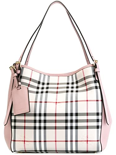 693494ae4fd1 Burberry women s handbag tote shopping bag purse canter horseferry pink