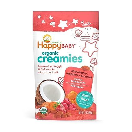 Happy Baby Creamies - Compresa de frutas y verduras con ...