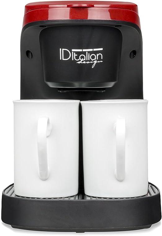 ID Italian IDECUCOF02 CAFETERA COFFEE DUO PRO, 450w-IDECUCOF02 ...