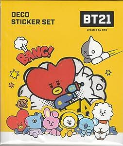 BTS Official Deco Stickers + Celebrate Photo Card Set (COMICPOP)