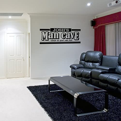 Man Cave WALL Decal Vinyl decal