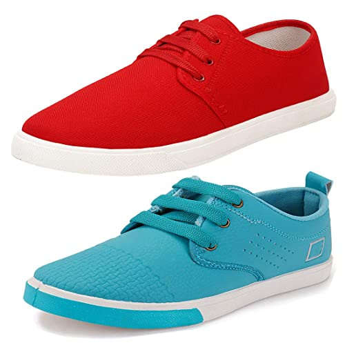 Stylish \u0026 Trendy Combo Canvas Sneakers