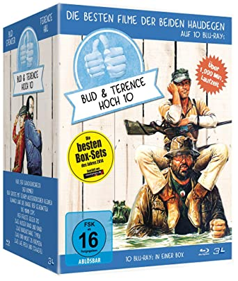 Bud Spencer Terence Hill Jubiläums Collection Box Blu Ray