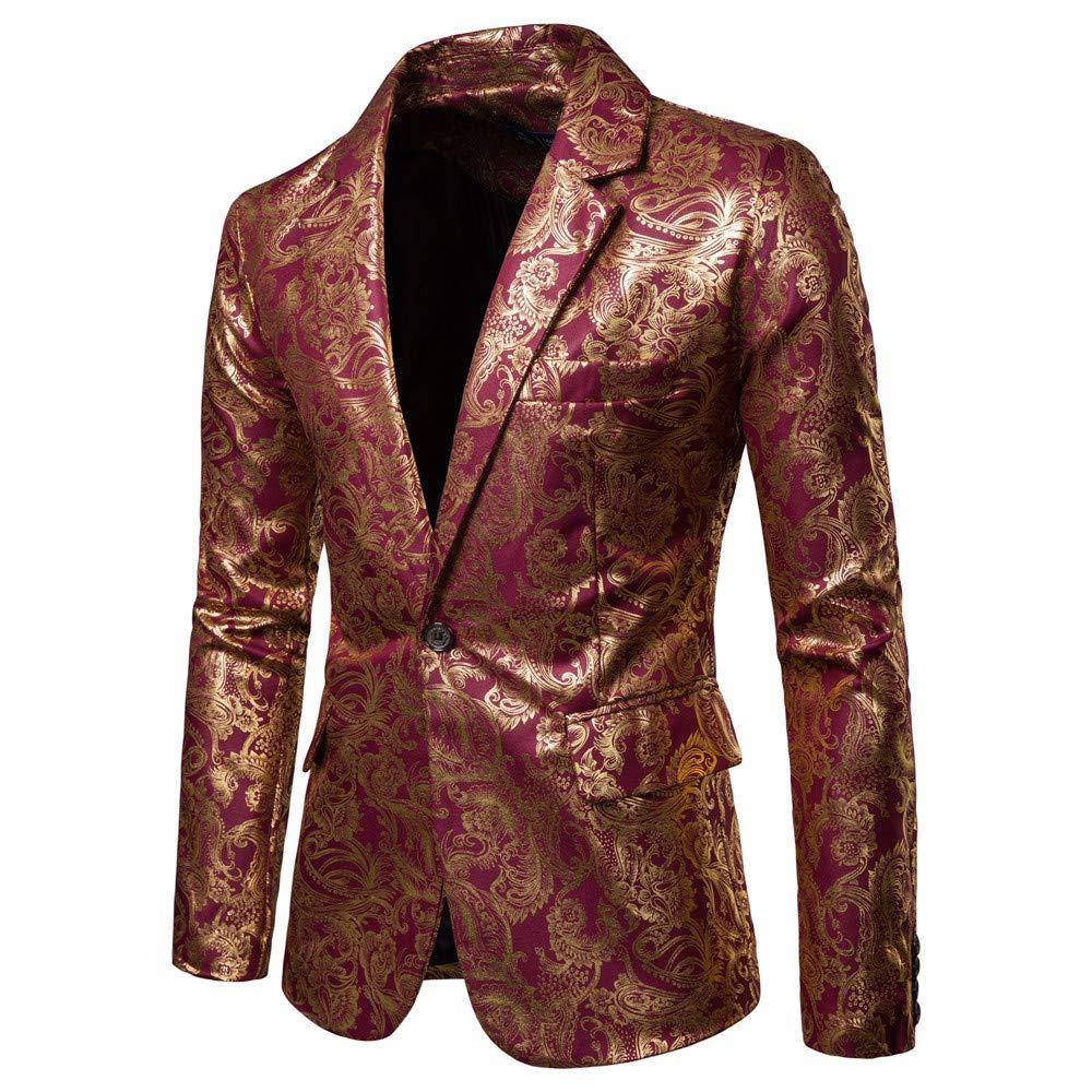 Amazon.com: JPJ(TM) Men Coat❤️Mens Printed Fashion ...