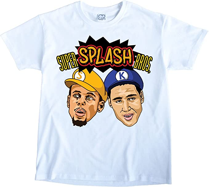 NBA Finals Splash Brothers Stephen Curry Klay Thompson Golden State Warriors MCON (XL)