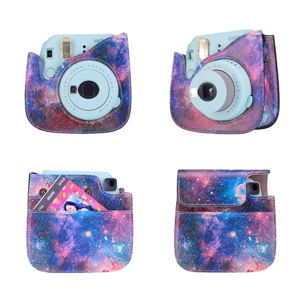 Aoccsy 15 in 1 Instax Mini 9 Camera Accessories Bundles for FujiFilm Instax Mini 9 8 8 Red Flamingo Camera with Mini 9 Case//Album//Selfie Lens//Filters//Wall Hang Frames//Film Frames//Pen ETC