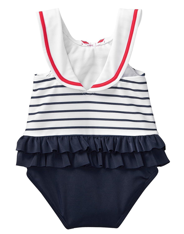 Gymboree Baby Girls 1-Piece Sailor Swimsuit