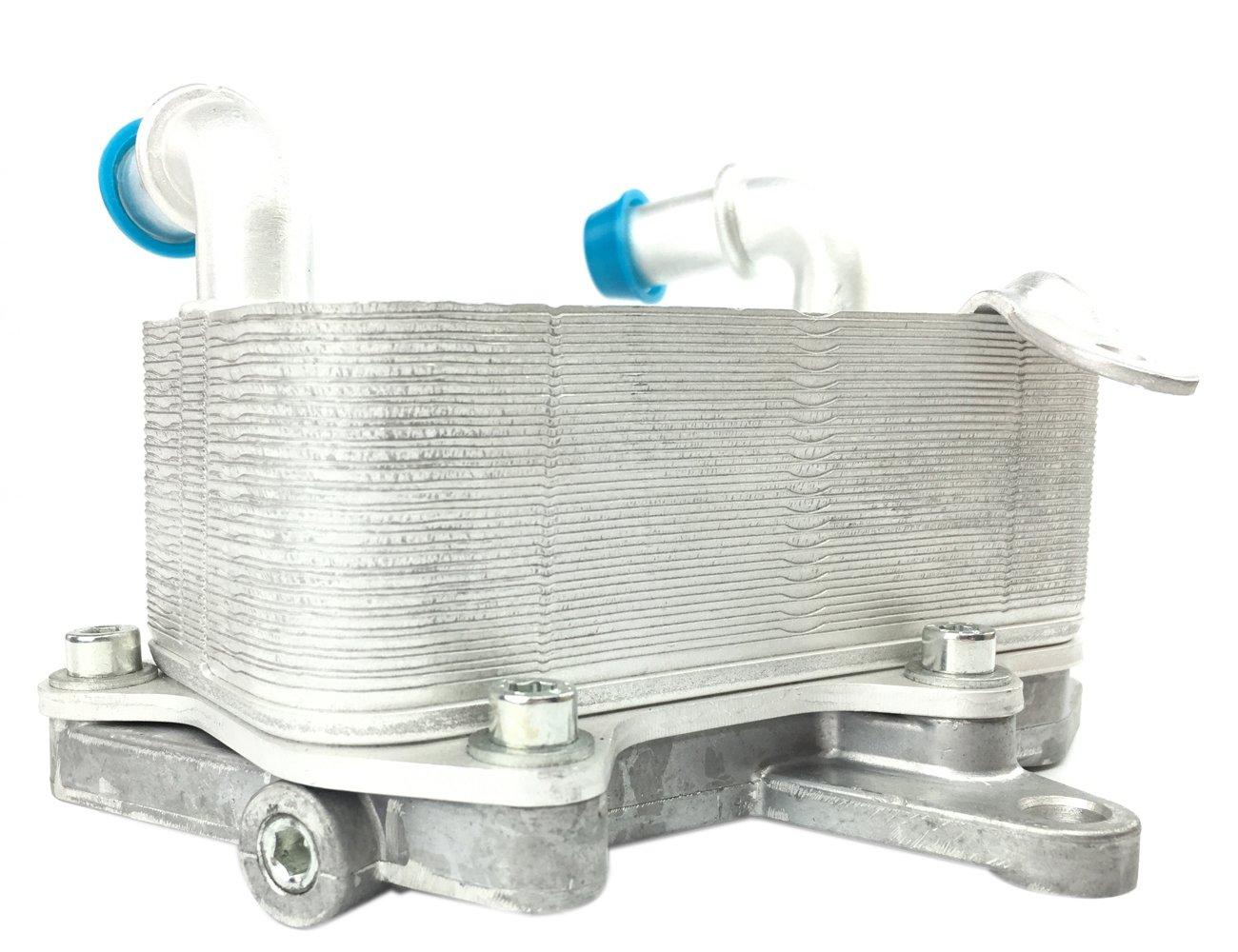 TOPAZ 3C0317037A Auto Transmission Oil Cooler with Base for 08-12 Volkswagen Passat CC 2.0L