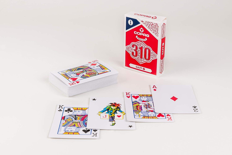 Amazon.com: Copag 104104324GA 310 Gaff I Trick Deck Paper: Sports & Outdoors