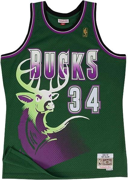 Milwaukee Bucks Ray Allen 1996 Alternate Swingman Jersey
