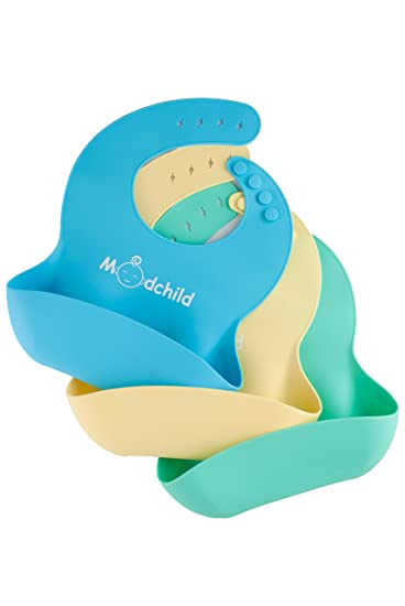 169654984 Amazon.com  Soft Silicone Baby Bibs