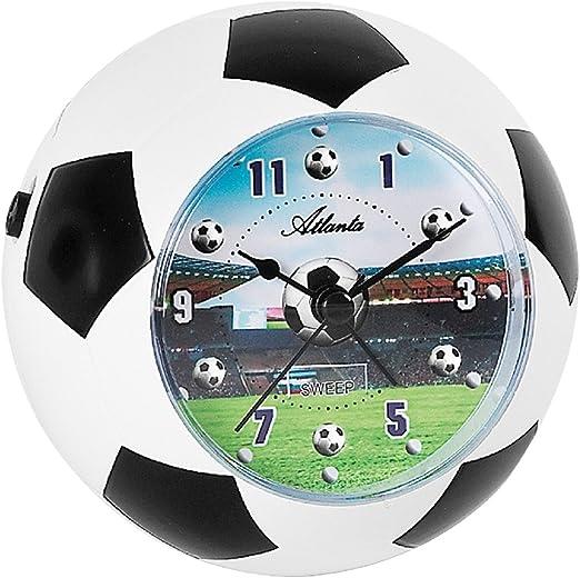 Atlanta Niños despertador Fútbol WM Analog – 1197: Amazon.es: Hogar
