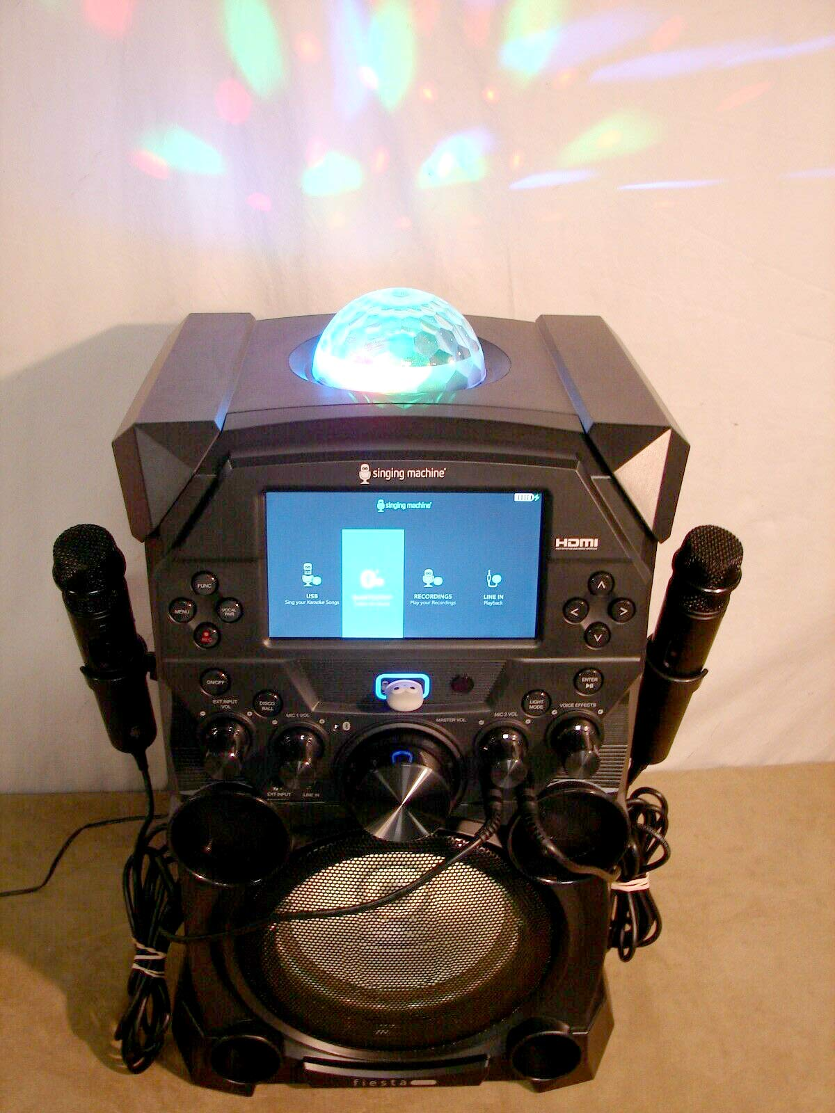 Amoldar 5inging Machine Fiest@ Voice Hi-Definition Karaoke System SDL9040 by Amoldar (Image #6)