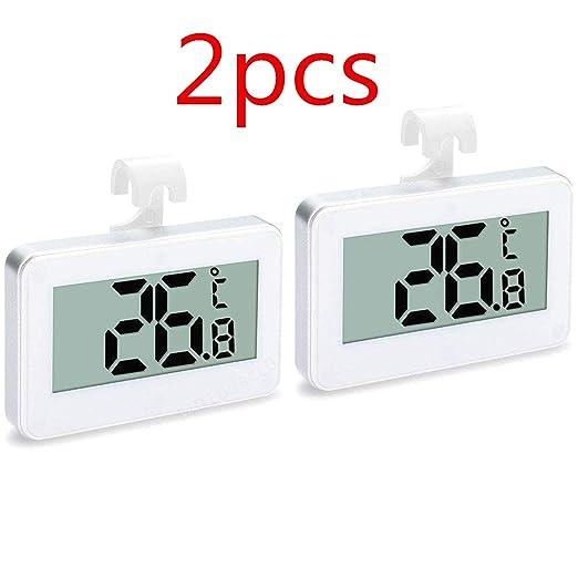 Compra LNIEGE Termómetro de refrigerador, Monitor de Temperatura ...