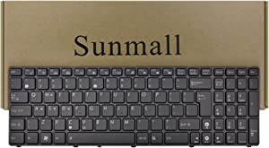 SUNMALL Keyboard Replacement Backlit & Big Enter Key Compatible with ASUS K52 K53 K54 K55 K72 K73 F50 F55 F70 F75 A52 A53E A54 A55D G51 G53 G56 X52 X53E X54 X55 Series Laptop Black US Layout