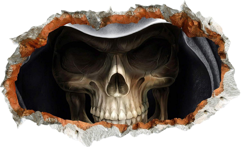 GSYDWSJTZ 2pcs Amazon Halloween Pared Muerte Pegatinas de Pared Halloween Salón Dormitorio Estudio Decoración de Pared Pintura ebe85c
